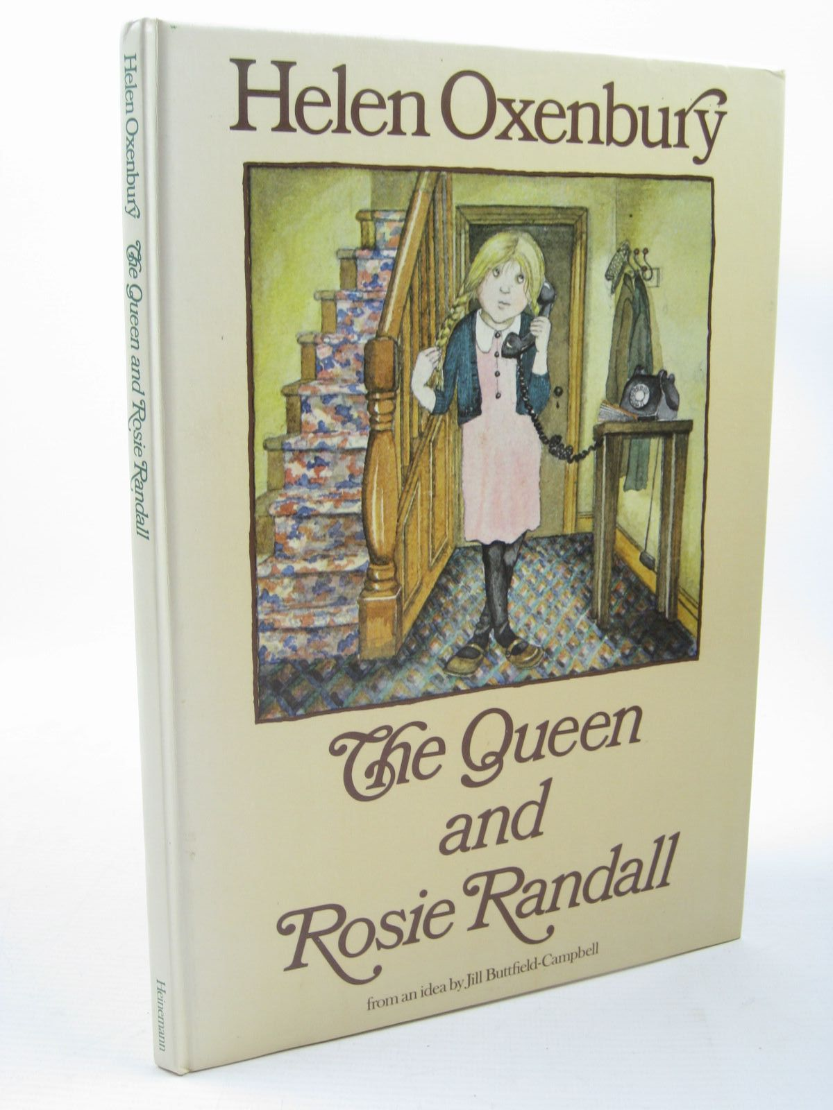 Photo of THE QUEEN AND ROSIE RANDALL written by Oxenbury, Helen illustrated by Oxenbury, Helen published by Heinemann (STOCK CODE: 1312742)  for sale by Stella & Rose's Books
