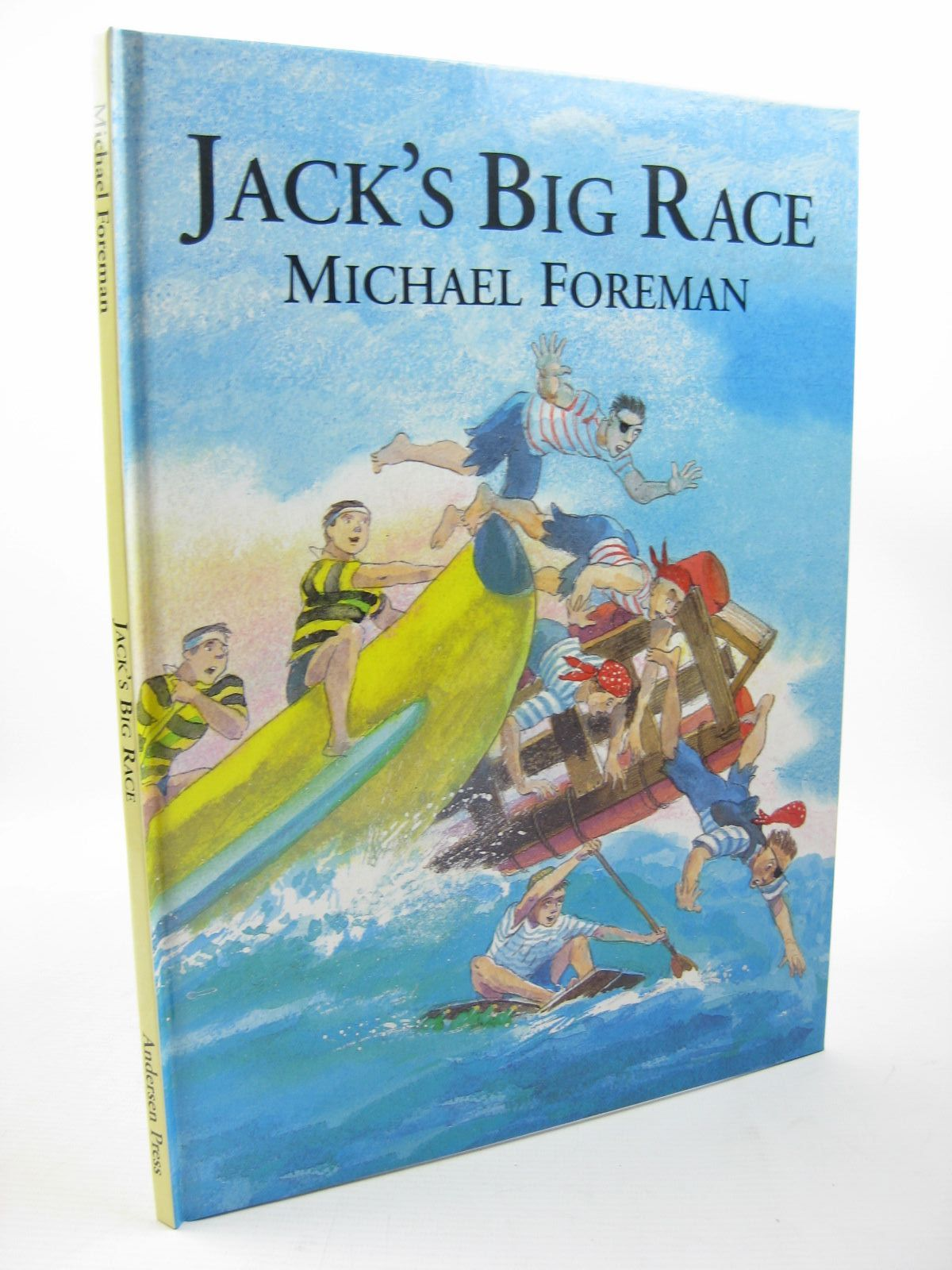 Photo of JACK'S BIG RACE written by Foreman, Michael illustrated by Foreman, Michael published by Andersen Press (STOCK CODE: 1312750)  for sale by Stella & Rose's Books