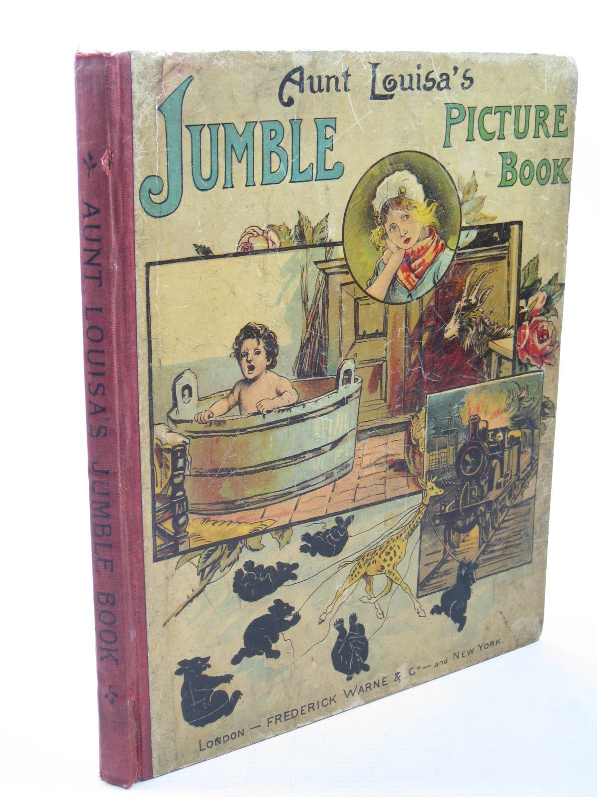 Photo of AUNT LOUISA'S JUMBLE PICTURE BOOK- Stock Number: 1312788