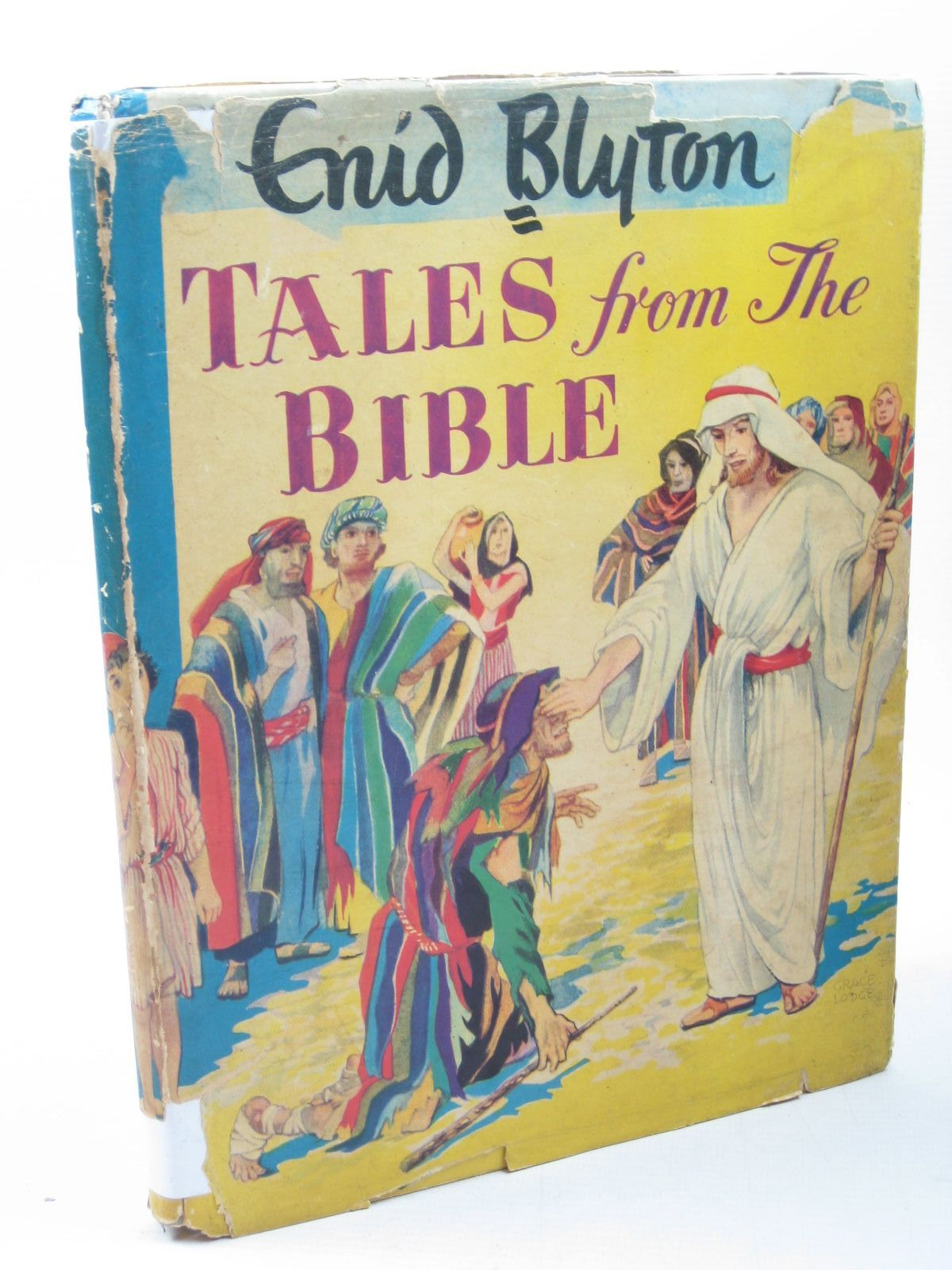 Photo of TALES FROM THE BIBLE written by Blyton, Enid illustrated by Lodge, Grace published by Frederick Muller Ltd. (STOCK CODE: 1313036)  for sale by Stella & Rose's Books