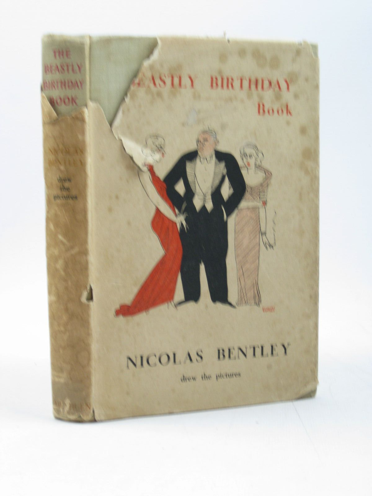 Photo of THE BEASTLY BIRTHDAY BOOK written by Bentley, Nicolas illustrated by Bentley, Nicolas published by Methuen & Co. Ltd. (STOCK CODE: 1313082)  for sale by Stella & Rose's Books