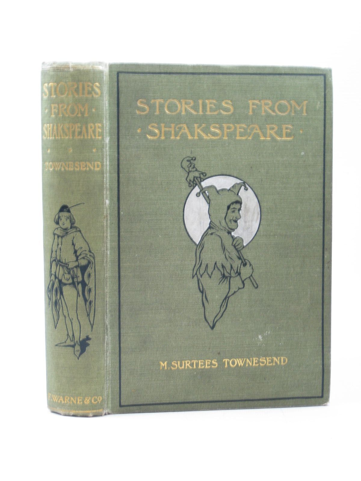 Photo of STORIES FROM SHAKESPEARE written by Townsend, M. Surtees illustrated by Townsend, M. Surtees published by Frederick Warne & Co. (STOCK CODE: 1313083)  for sale by Stella & Rose's Books