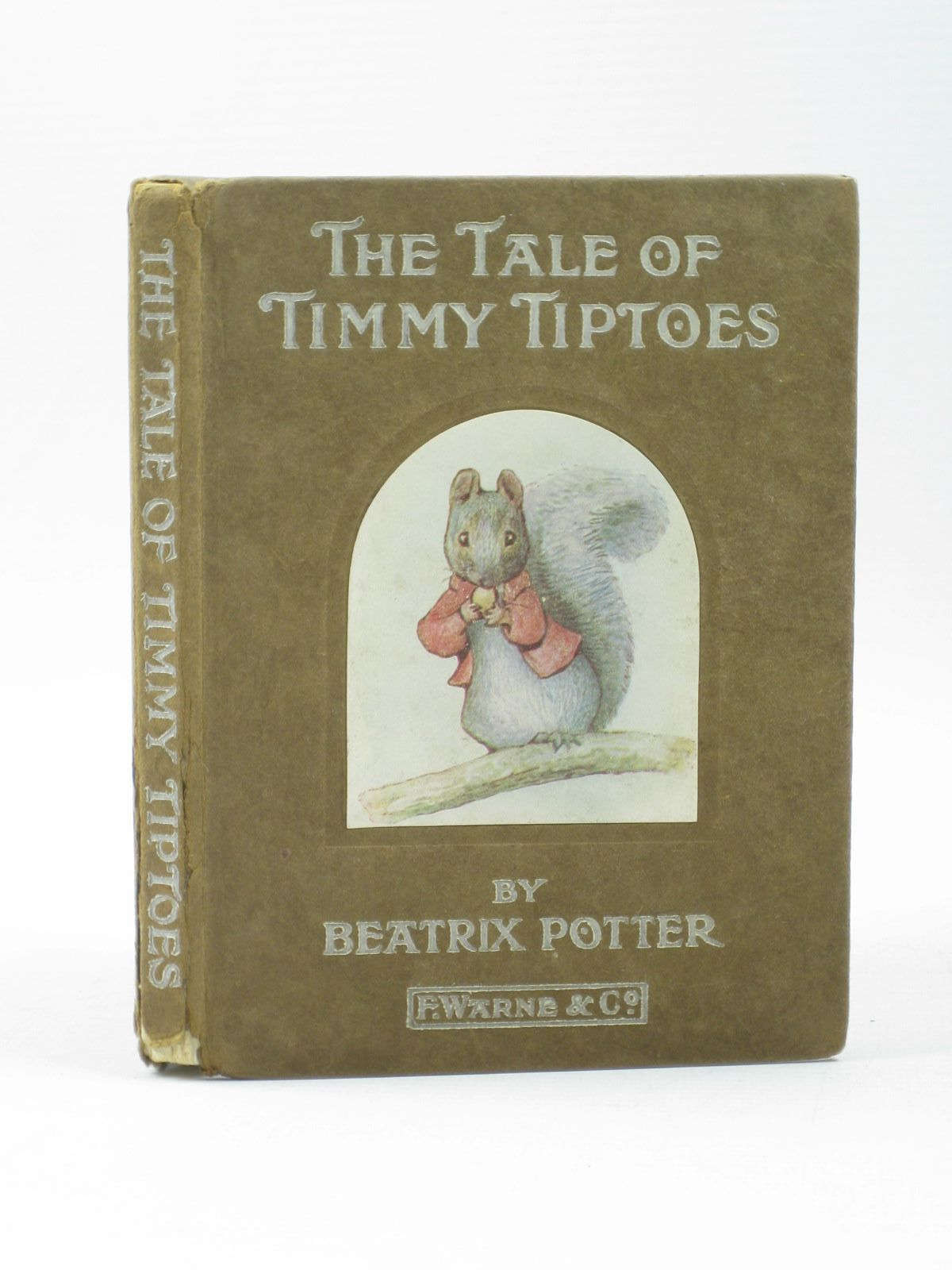 Photo of THE TALE OF TIMMY TIPTOES written by Potter, Beatrix illustrated by Potter, Beatrix published by Frederick Warne & Co. (STOCK CODE: 1313165)  for sale by Stella & Rose's Books