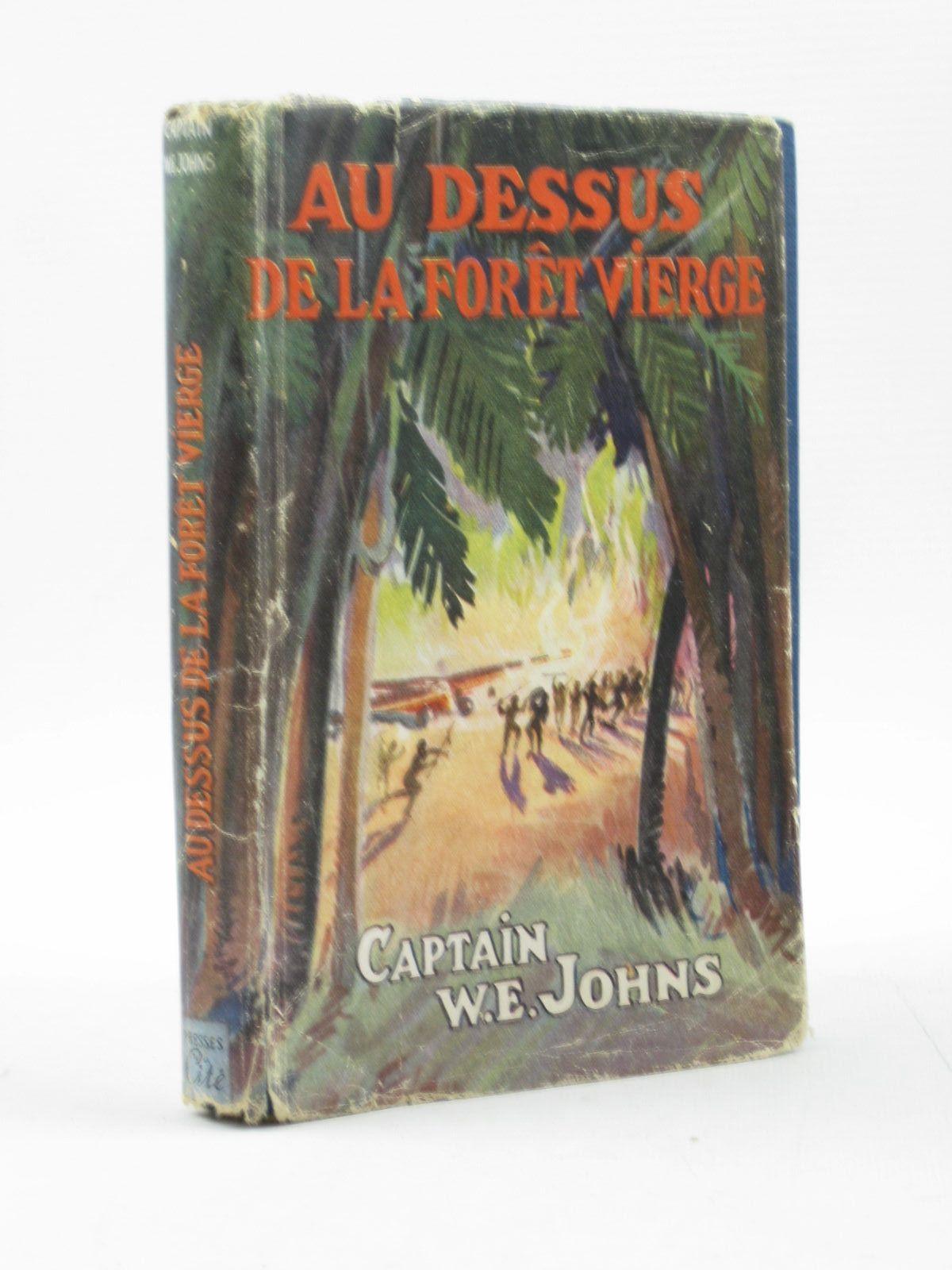 Photo of AU DESSUS DE LA FORET VIERGE written by Johns, W.E. Hot, S. published by Les Presses De La Cite (STOCK CODE: 1313433)  for sale by Stella & Rose's Books