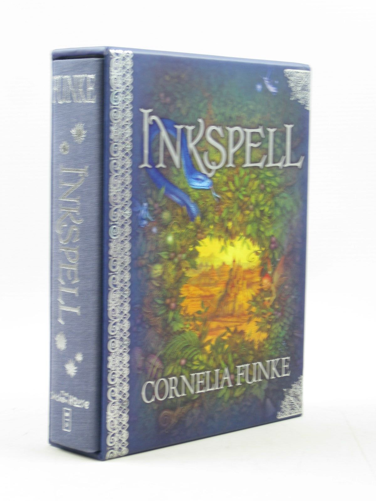Photo of INKSPELL written by Funke, Cornelia<br />Bell, Anthea illustrated by Lawson, Carol<br />Funke, Cornelia published by The Chicken House, Scholastic Inc. (STOCK CODE: 1313455)  for sale by Stella & Rose's Books