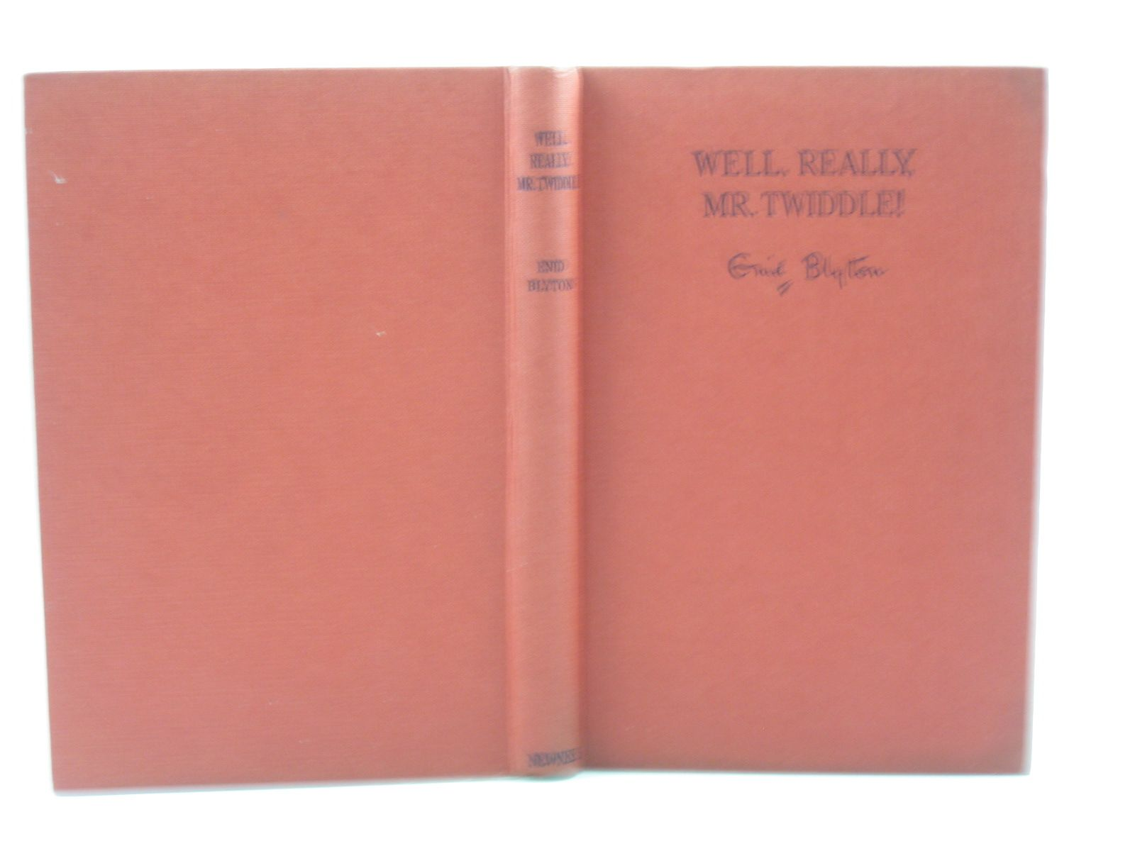 Photo of WELL, REALLY, MR. TWIDDLE! written by Blyton, Enid illustrated by McGavin, Hilda published by George Newnes Limited (STOCK CODE: 1313485)  for sale by Stella & Rose's Books