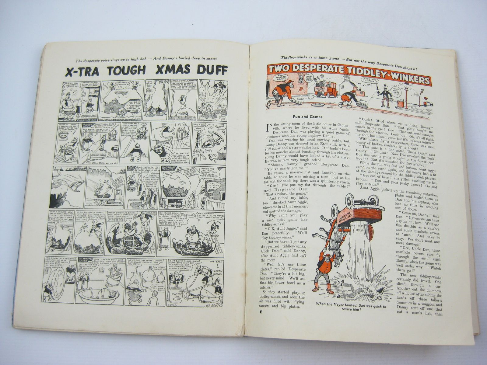 Photo of THE DANDY'S DESPERATE DAN published by D.C. Thomson & Co Ltd. (STOCK CODE: 1313499)  for sale by Stella & Rose's Books