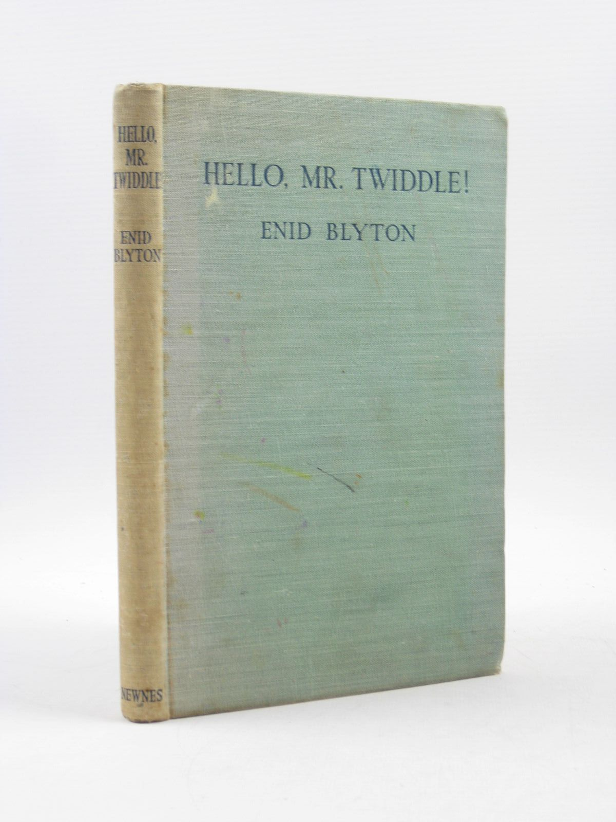 Photo of HELLO, MR. TWIDDLE! written by Blyton, Enid illustrated by McGavin, Hilda published by George Newnes Ltd. (STOCK CODE: 1313504)  for sale by Stella & Rose's Books