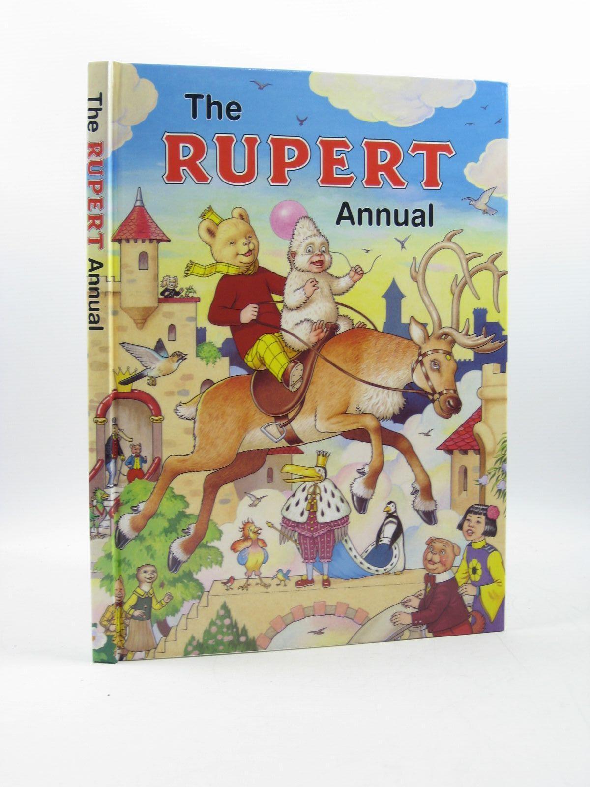 Photo of RUPERT ANNUAL 2006 written by Henderson, Jim illustrated by Harrold, John published by Express Newspapers Ltd. (STOCK CODE: 1313563)  for sale by Stella & Rose's Books