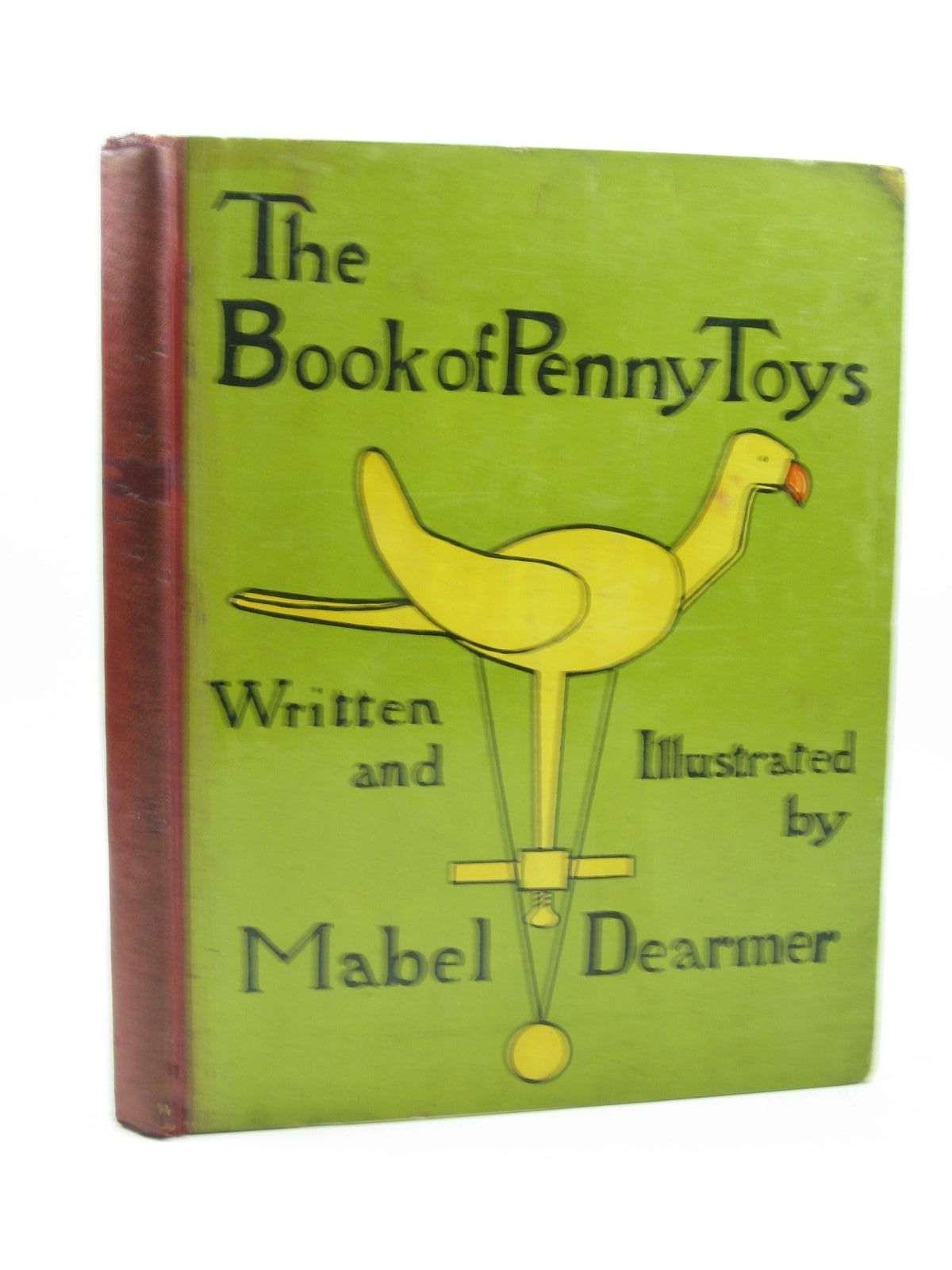 Photo of THE BOOK OF PENNY TOYS written by Dearmer, Mabel illustrated by Dearmer, Mabel published by Macmillan & Co. Ltd., The Macmillan Company (STOCK CODE: 1313589)  for sale by Stella & Rose's Books