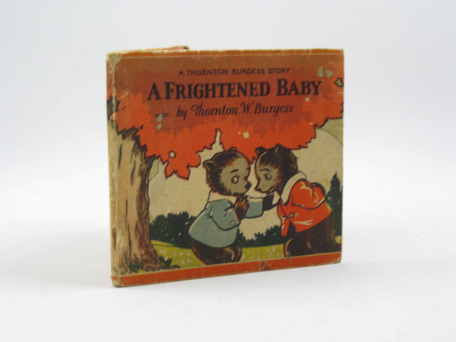 Photo of A FRIGHTENED BABY written by Burgess, Thornton W. illustrated by Jordan, Nina R. published by Whitman Publishing Company (STOCK CODE: 1313797)  for sale by Stella & Rose's Books