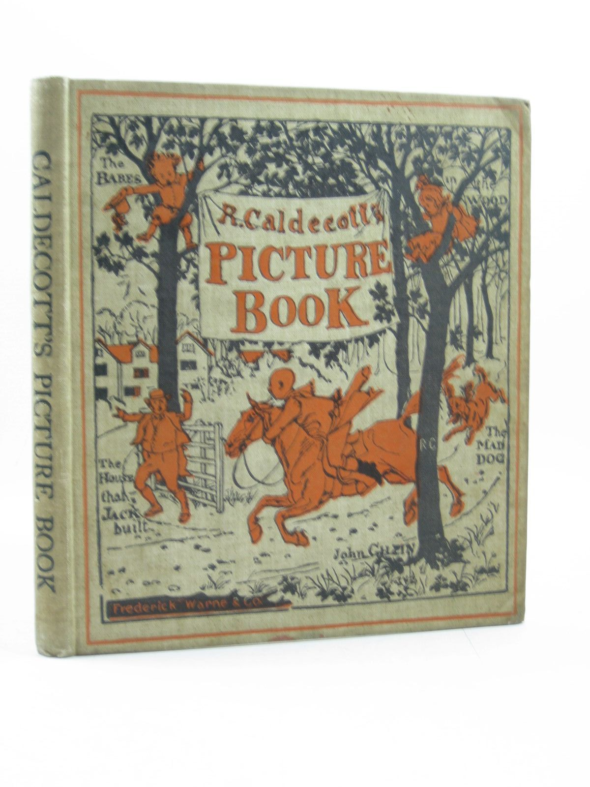 Photo of R. CALDECOTT'S PICTURE BOOK illustrated by Caldecott, Randolph published by Frederick Warne & Co. (STOCK CODE: 1313852)  for sale by Stella & Rose's Books