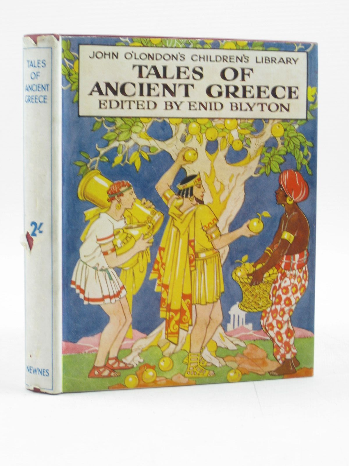 Photo of JOHN O'LONDON'S CHILDREN'S LIBRARY written by Blyton, Enid illustrated by Robinson, T.H.