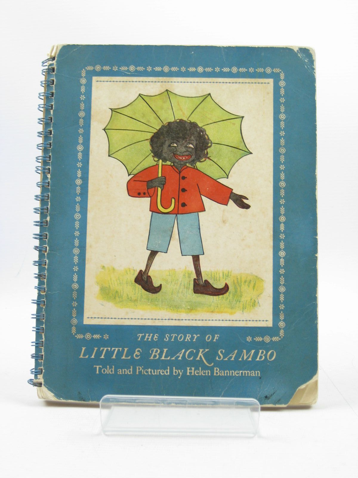 Photo of THE STORY OF LITTLE BLACK SAMBO written by Bannerman, Helen illustrated by Bannerman, Helen published by Chatto & Windus (STOCK CODE: 1313981)  for sale by Stella & Rose's Books