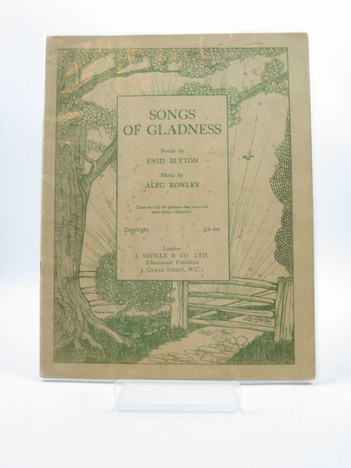 Photo of SONGS OF GLADNESS- Stock Number: 1313997