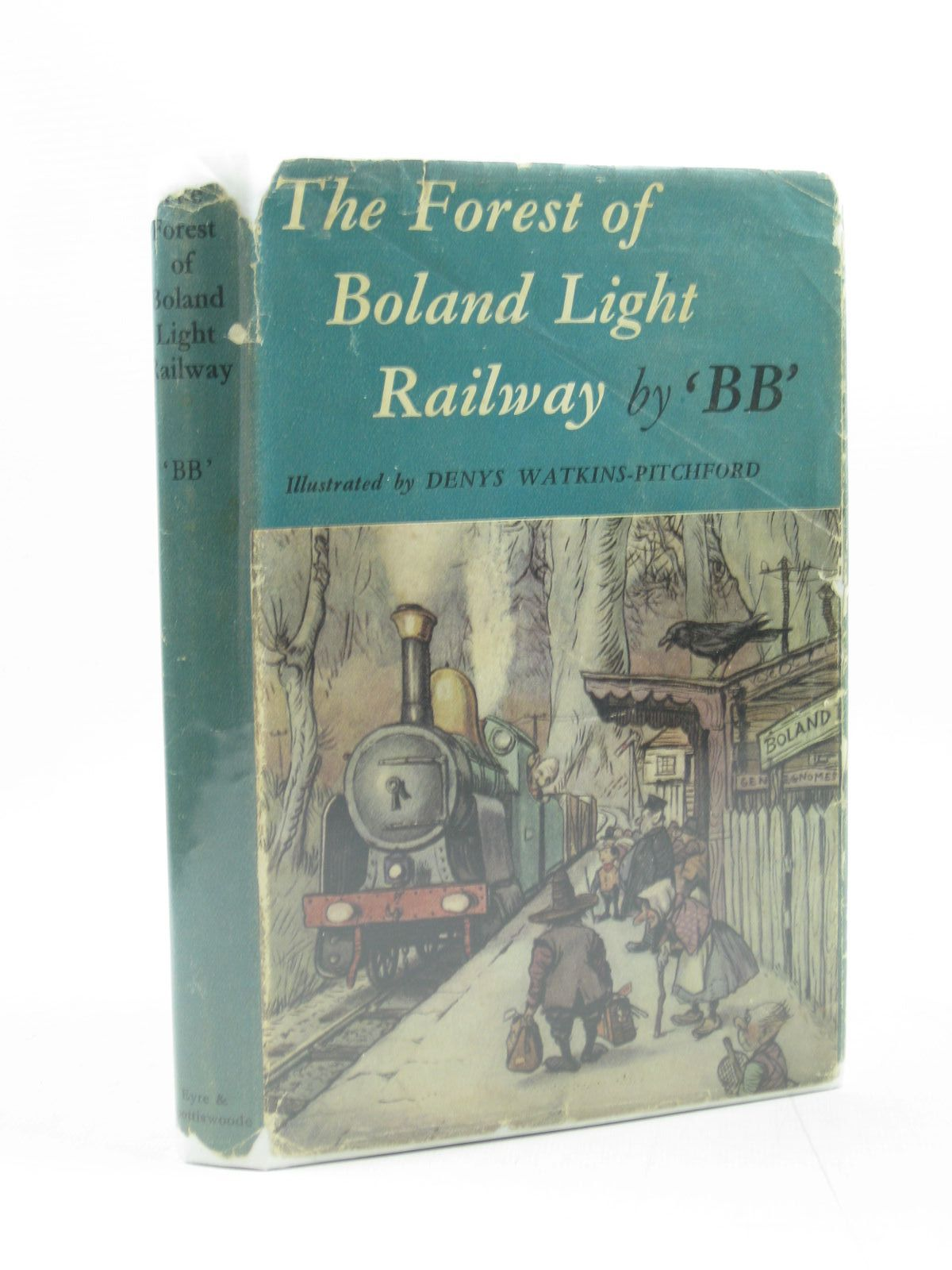 Photo of THE FOREST OF BOLAND LIGHT RAILWAY written by BB,  illustrated by BB,  published by Eyre & Spottiswoode (STOCK CODE: 1313999)  for sale by Stella & Rose's Books