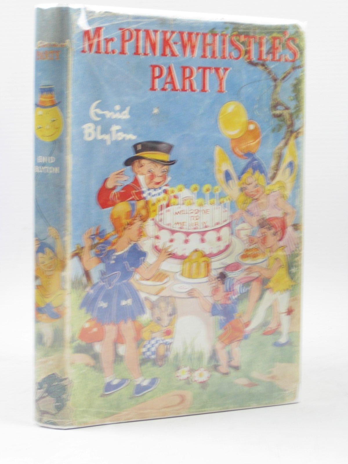 Photo of MR. PINK-WHISTLE'S PARTY written by Blyton, Enid illustrated by Wheeler, Dorothy published by George Newnes Ltd. (STOCK CODE: 1314078)  for sale by Stella & Rose's Books