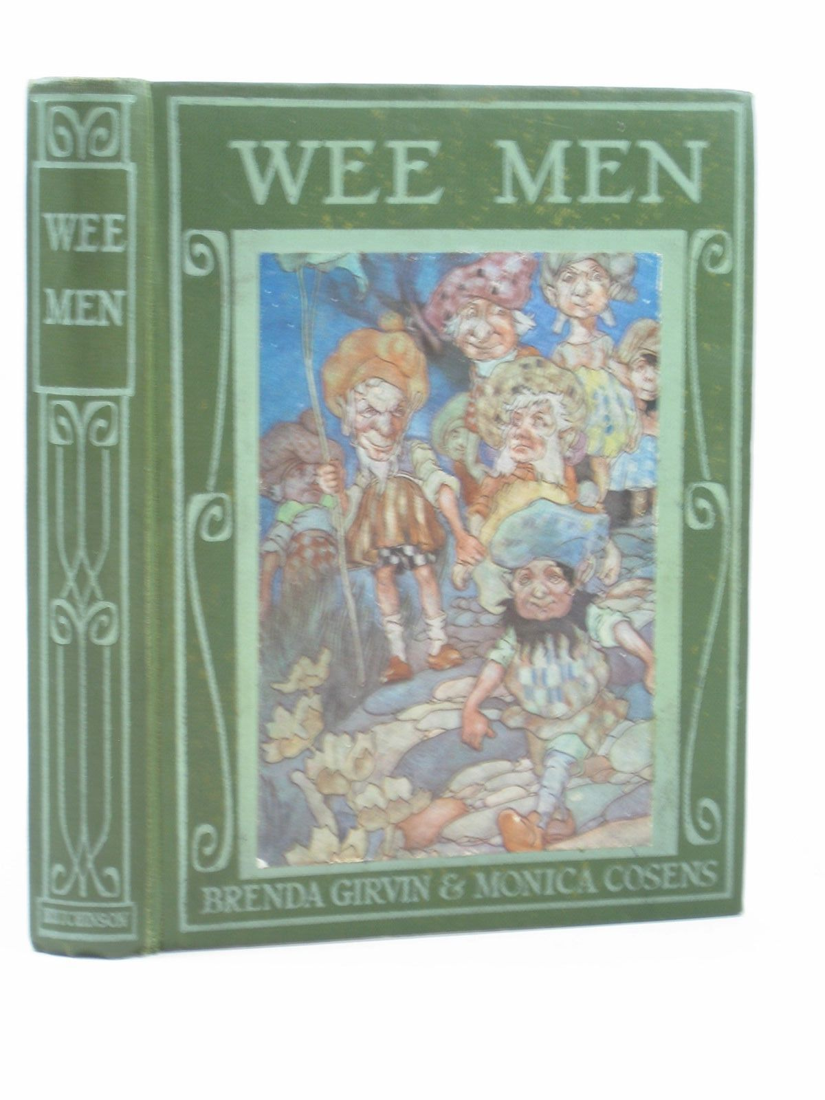 Photo of WEE MEN written by Girvin, Brenda Cosens, Monica illustrated by Robinson, Charles published by Hutchinson & Co. (STOCK CODE: 1314082)  for sale by Stella & Rose's Books