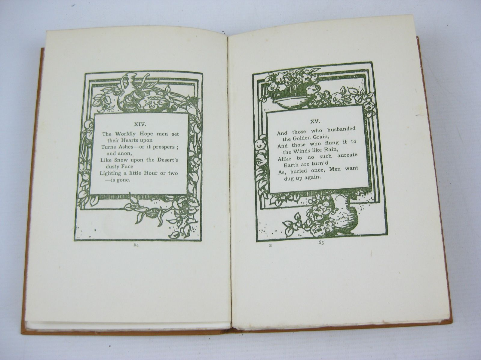 Photo of RUBAIYAT OF OMAR KHAYYAM written by Fitzgerald, Edward<br />Jacobs, Joseph illustrated by Brangwyn, Frank published by Sampson Low, Marston &amp; Co. Ltd. (STOCK CODE: 1314099)  for sale by Stella & Rose's Books