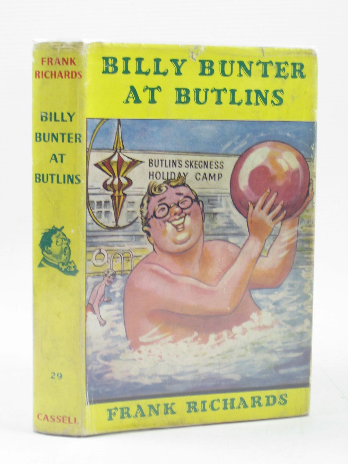 Photo of BILLY BUNTER AT BUTLIN'S written by Richards, Frank illustrated by Chapman, C.H. published by Cassell (STOCK CODE: 1314108)  for sale by Stella & Rose's Books