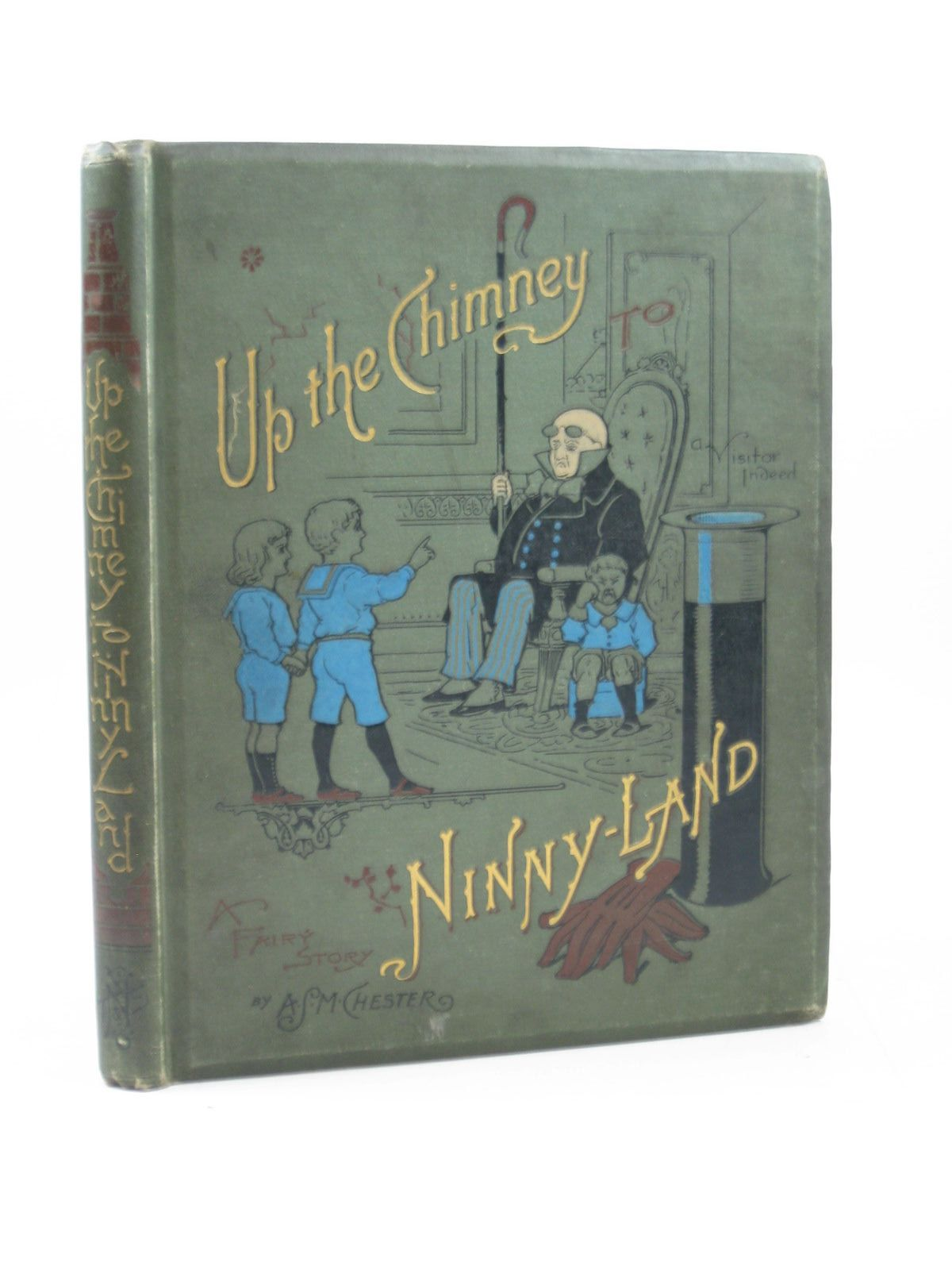 Photo of UP THE CHIMNEY TO NINNY LAND- Stock Number: 1314136