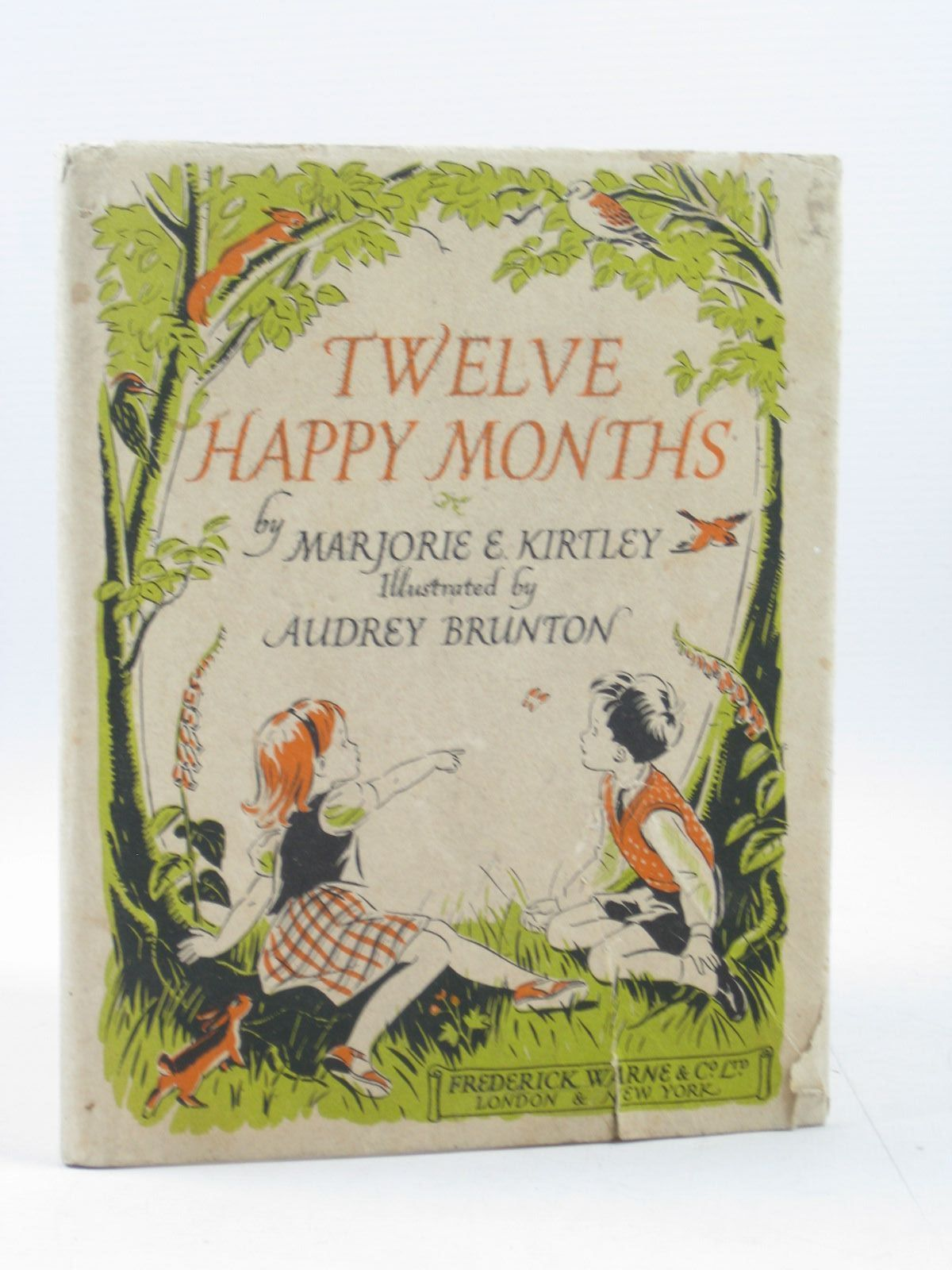 Photo of TWELVE HAPPY MONTHS written by Kirtley, Marjorie E. illustrated by Brunton, Audrey published by Frederick Warne & Co Ltd. (STOCK CODE: 1314142)  for sale by Stella & Rose's Books