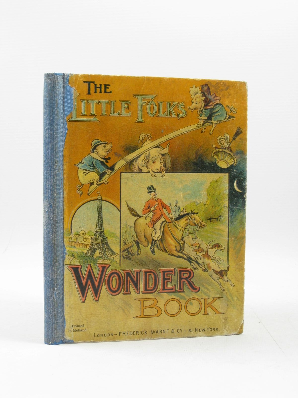 Photo of THE LITTLE FOLKS' WONDER BOOK illustrated by Johnson, A.J. published by Frederick Warne & Co. (STOCK CODE: 1314207)  for sale by Stella & Rose's Books