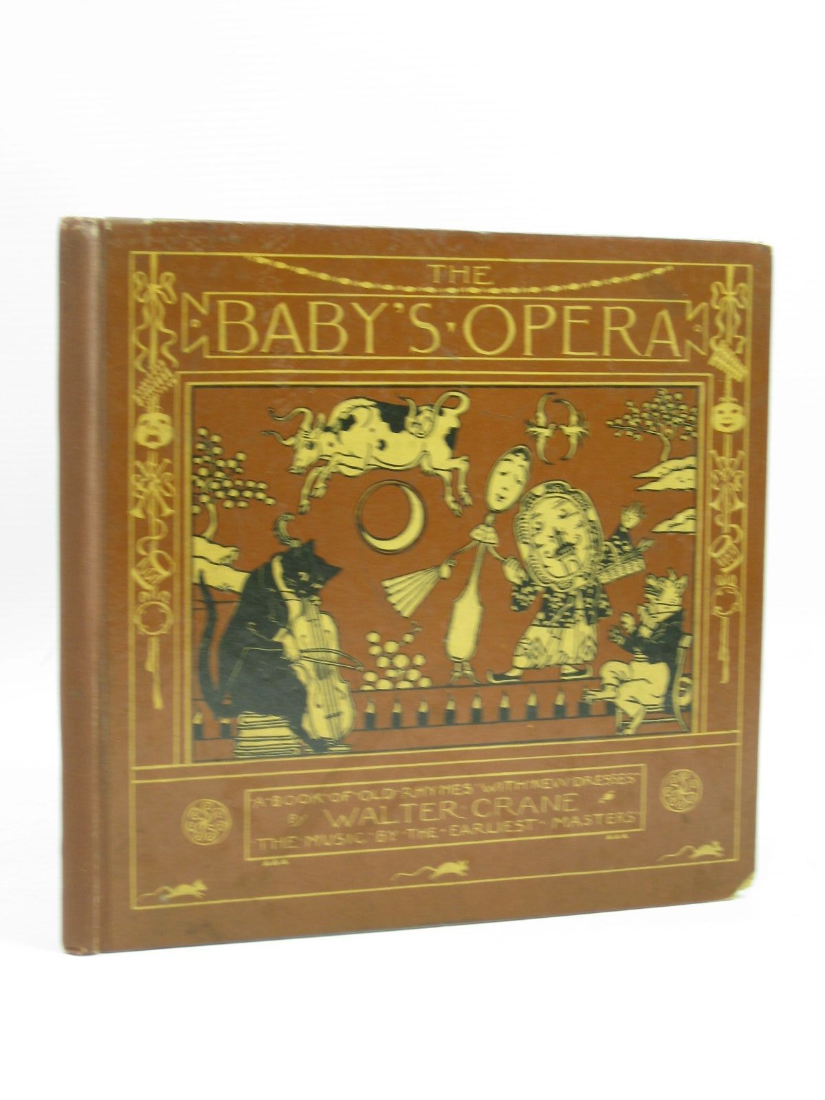 Photo of THE BABY'S OPERA illustrated by Crane, Walter published by George Routledge & Sons (STOCK CODE: 1314407)  for sale by Stella & Rose's Books