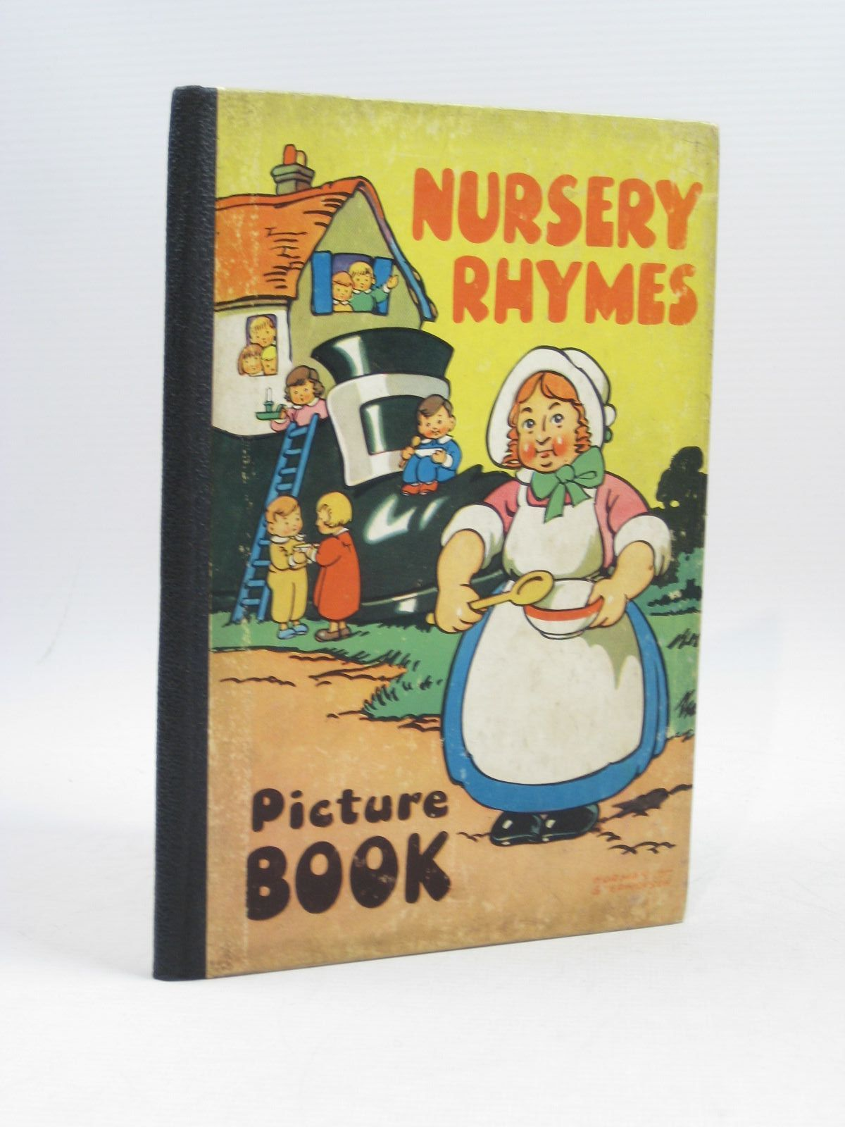 Photo of NURSERY RHYMES PICTURE BOOK illustrated by Stephenson, Norman T. published by Sandle Brothers Ltd. (STOCK CODE: 1314416)  for sale by Stella & Rose's Books