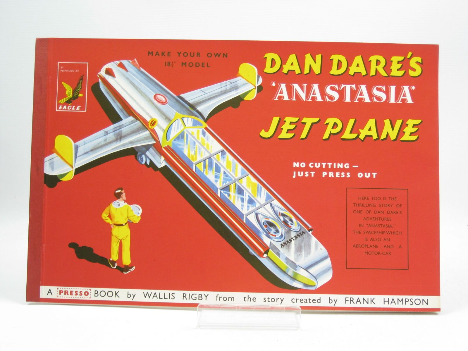 Photo of DAN DARE'S ANASTASIA JET PLANE written by Rigby, Wallis<br />Hampson, Frank illustrated by Hampson, Frank published by Hulton Press (STOCK CODE: 1314482)  for sale by Stella & Rose's Books