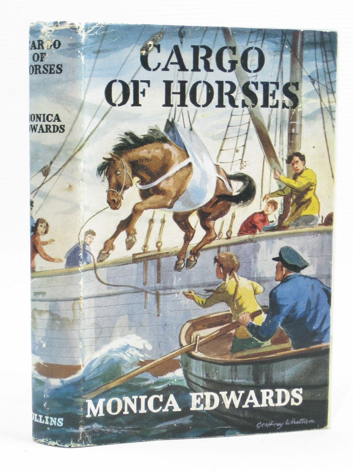Photo of CARGO OF HORSES written by Edwards, Monica illustrated by Whittam, Geoffrey published by Collins (STOCK CODE: 1314489)  for sale by Stella & Rose's Books