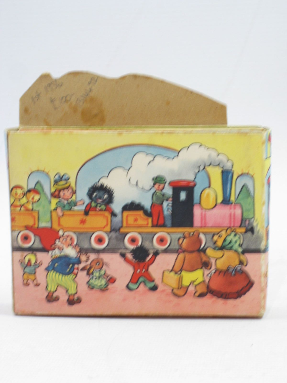Photo of NODDY'S TOY STATION OF BOOKS written by Blyton, Enid published by Sampson Low, Marston & Co. Ltd., Dennis Dobson Ltd. (STOCK CODE: 1314492)  for sale by Stella & Rose's Books