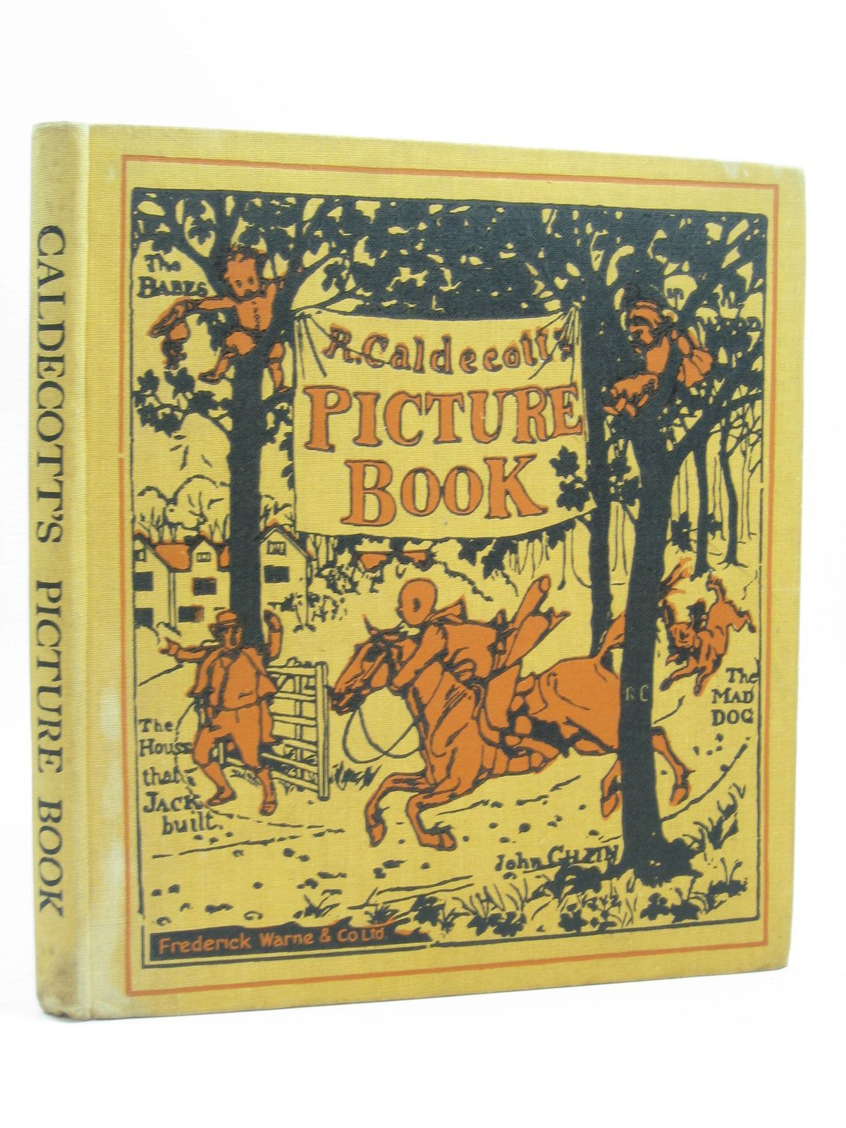 Photo of R. CALDECOTT'S PICTURE BOOK No. 1 illustrated by Caldecott, Randolph published by Frederick Warne & Co Ltd. (STOCK CODE: 1314508)  for sale by Stella & Rose's Books