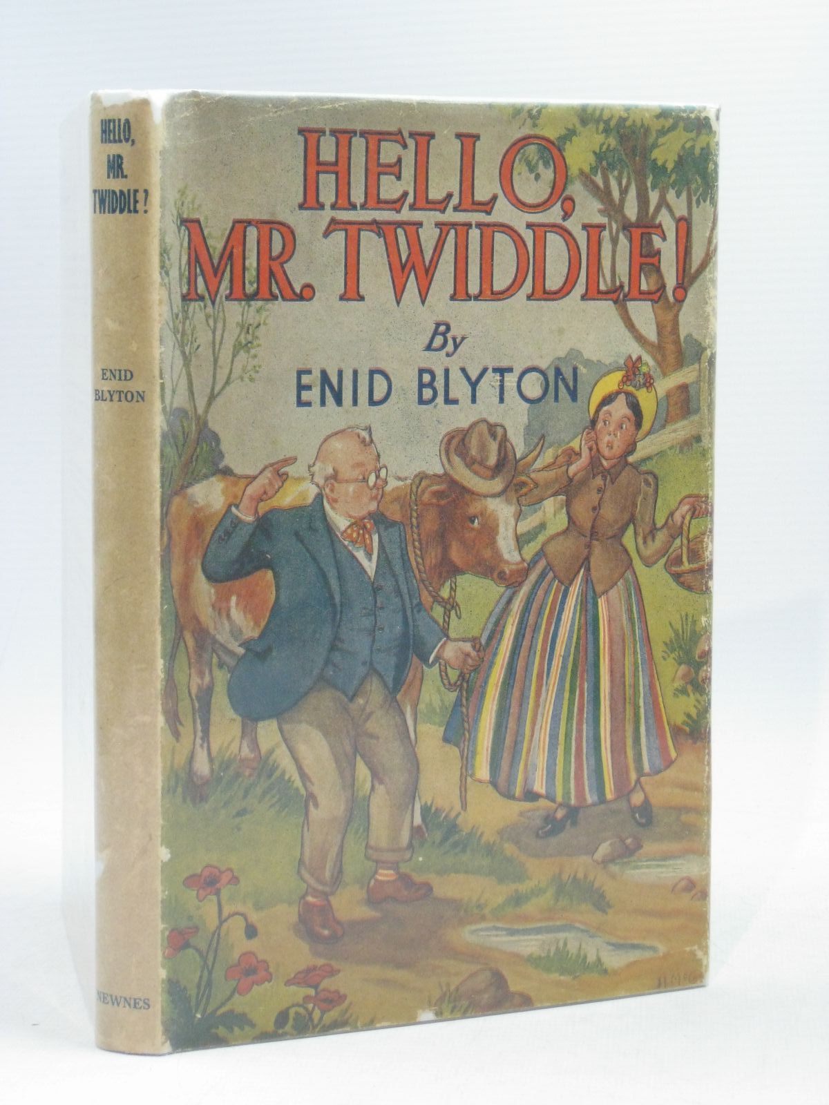 Photo of HELLO, MR. TWIDDLE! written by Blyton, Enid illustrated by McGavin, Hilda published by George Newnes Ltd. (STOCK CODE: 1314603)  for sale by Stella & Rose's Books