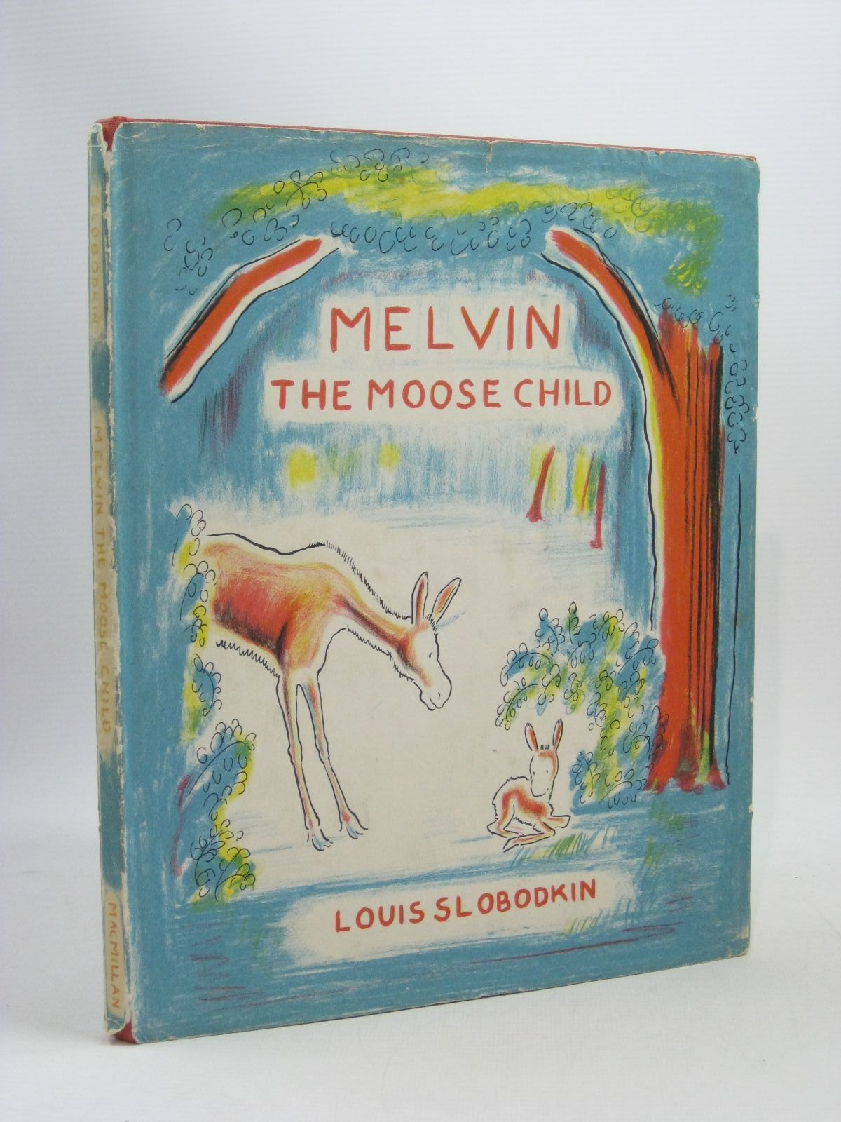 Photo of MELVIN THE MOOSE CHILD written by Slobodkin, Louis illustrated by Slobodkin, Louis published by Macmillan, New York (STOCK CODE: 1314655)  for sale by Stella & Rose's Books