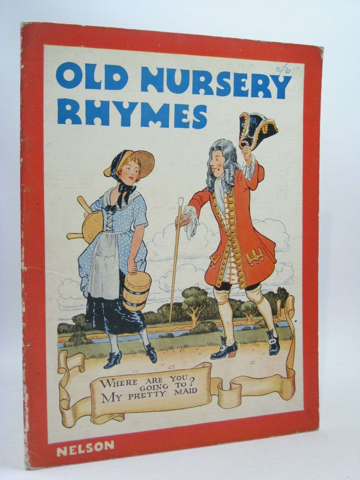 Photo of OLD NURSERY RHYMES illustrated by Orr, Jack