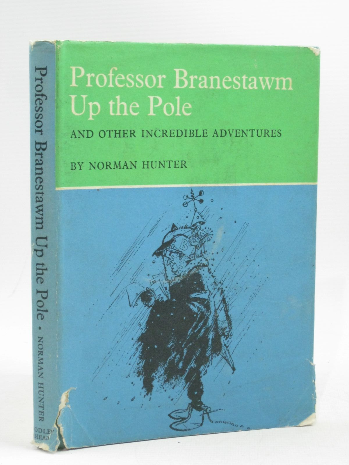 Photo of PROFESSOR BRANESTAWM UP THE POLE written by Hunter, Norman illustrated by Adamson, George published by The Bodley Head (STOCK CODE: 1314805)  for sale by Stella & Rose's Books