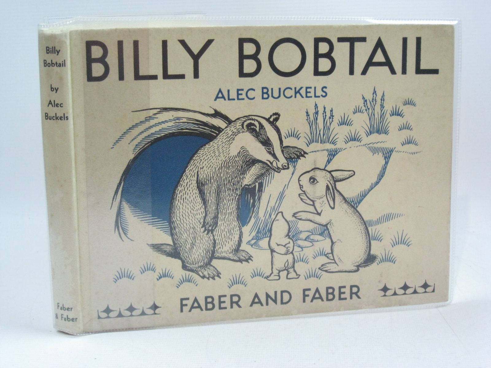 Photo of BILLY BOBTAIL written by Buckels, Alec illustrated by Buckels, Alec published by Faber & Faber Ltd. (STOCK CODE: 1314843)  for sale by Stella & Rose's Books
