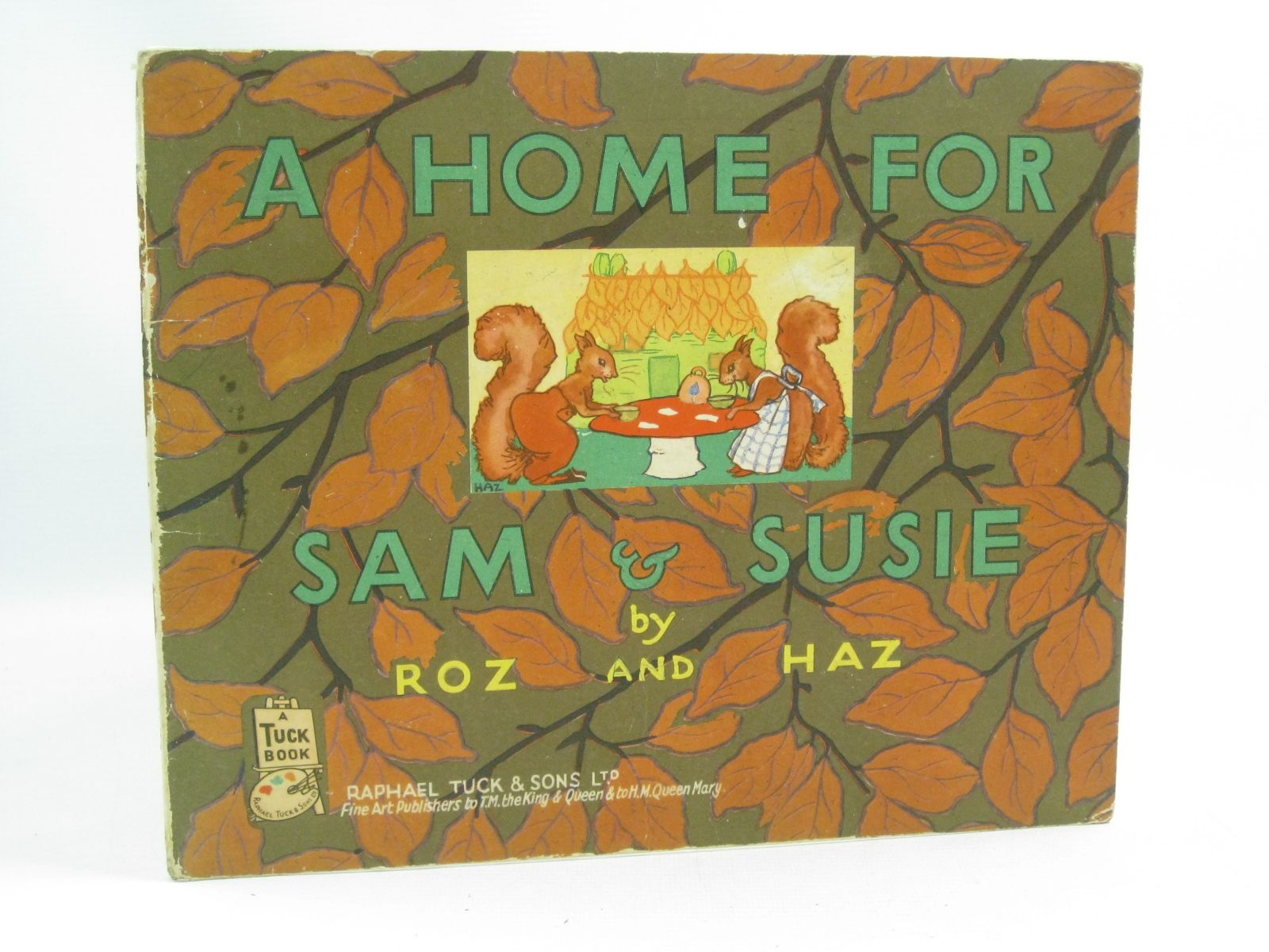 Photo of A HOME FOR SAM & SUSIE written by Roz,  illustrated by Haz,  published by Raphael Tuck & Sons Ltd. (STOCK CODE: 1314938)  for sale by Stella & Rose's Books