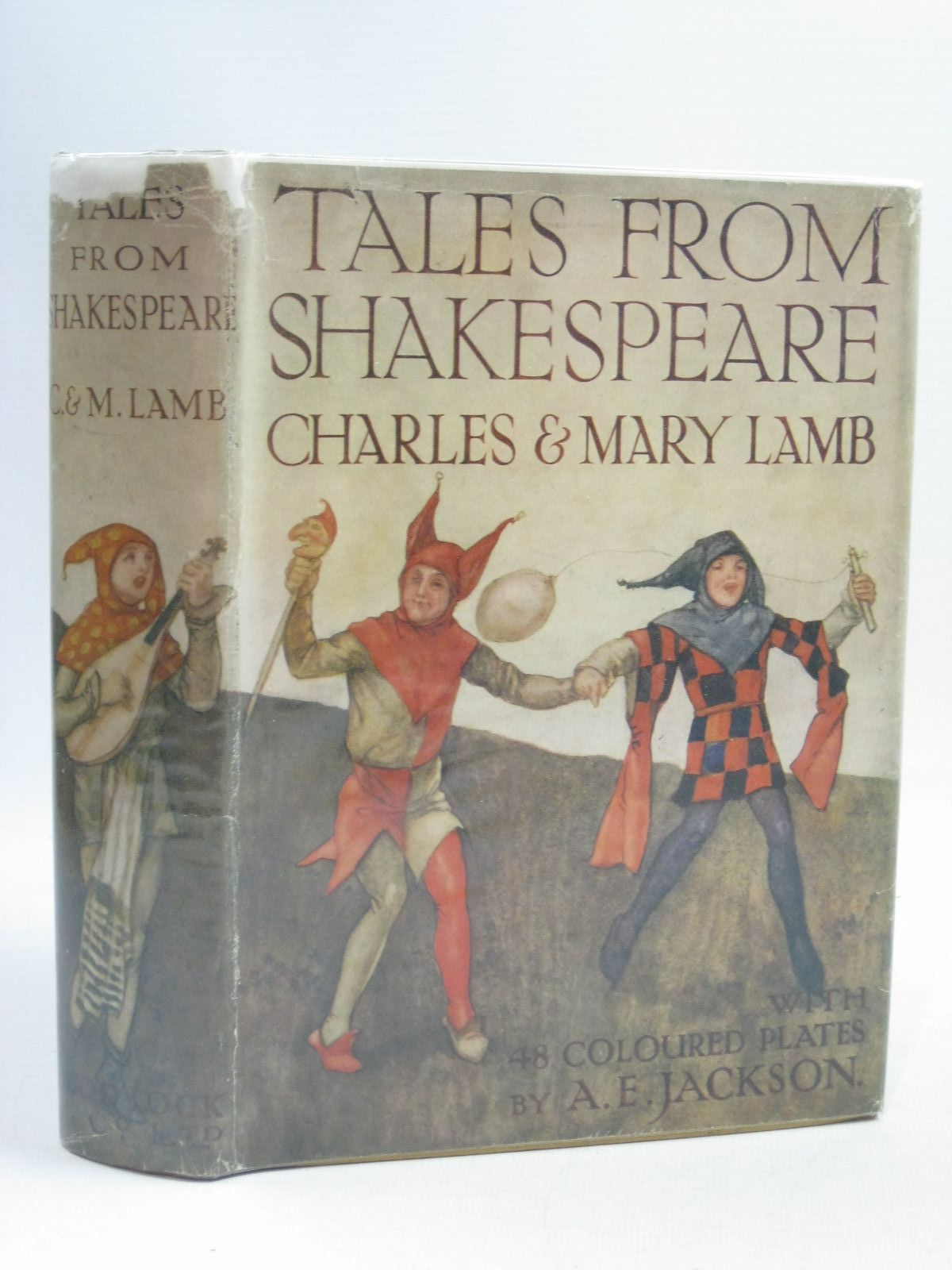 Photo of TALES FROM SHAKESPEARE written by Lamb, Charles Lamb, Mary Shakespeare, William illustrated by Jackson, A.E. published by Ward Lock & Co Ltd. (STOCK CODE: 1314954)  for sale by Stella & Rose's Books