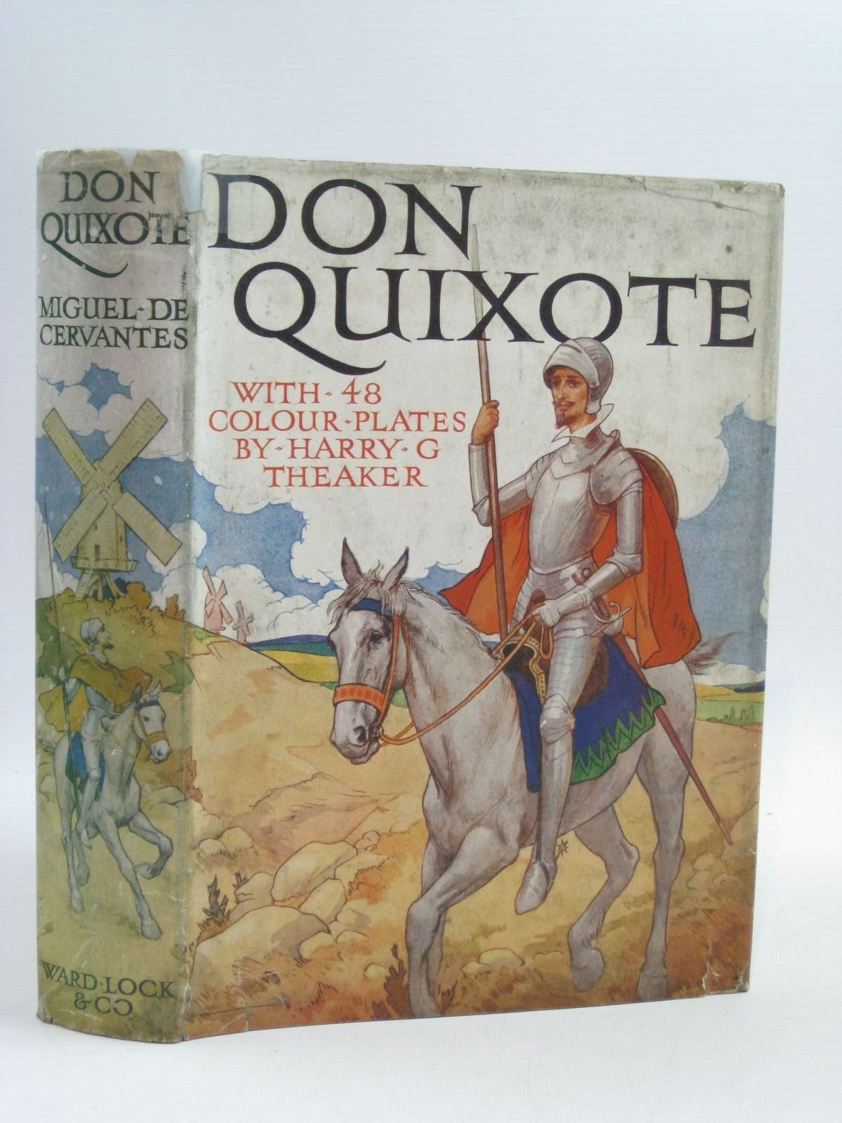 Photo of DON QUIXOTE written by De Cervantes, Miguel illustrated by Theaker, Harry G. published by Ward, Lock & Co. Ltd. (STOCK CODE: 1314958)  for sale by Stella & Rose's Books