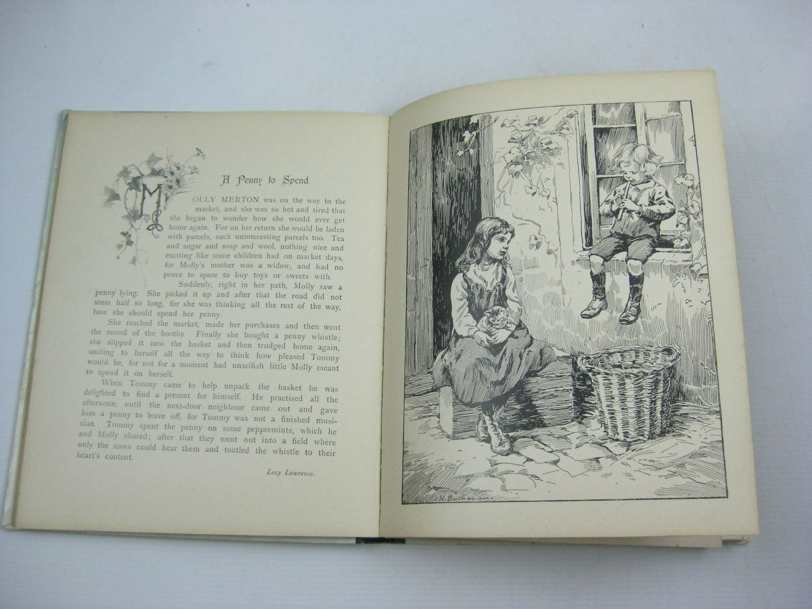 Photo of NISTER'S HOLIDAY ANNUAL - 22ND YEAR written by Playne, Alfred C.<br />Fenn, George Manville<br />Molesworth, Olive<br />Weedon, L.L.<br />Braine, Sheila E.<br />et al, illustrated by Petherick, Rosa C.<br />Hardy, E. Stuart<br />Thompson, G.H.<br />et al., published by Ernest Nister, E.P. Dutton &amp; Co. (STOCK CODE: 1314970)  for sale by Stella & Rose's Books