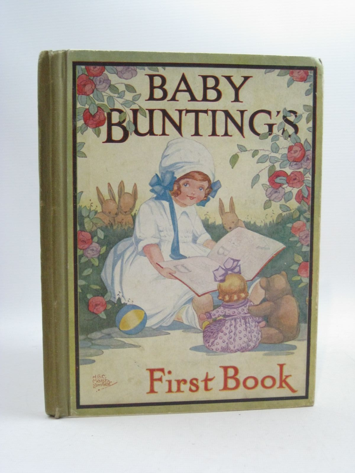 Photo of BABY BUNTING'S FIRST BOOK written by Lambert, H.G.C. Marsh illustrated by Lambert, H.G.C. Marsh published by Ward, Lock & Co. Limited (STOCK CODE: 1314977)  for sale by Stella & Rose's Books