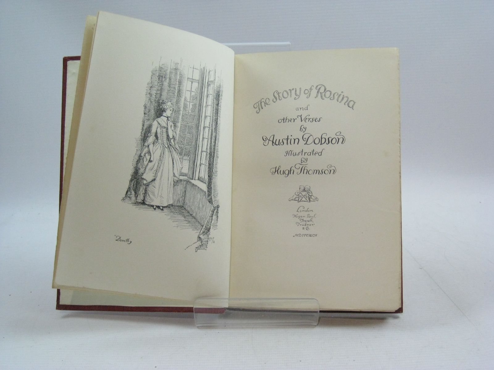 Photo of THE STORY OF ROSINA & OTHER VERSES written by Dobson, Austin illustrated by Thomson, Hugh published by Kegan Paul, Trench, Trubner & Co. (STOCK CODE: 1315040)  for sale by Stella & Rose's Books