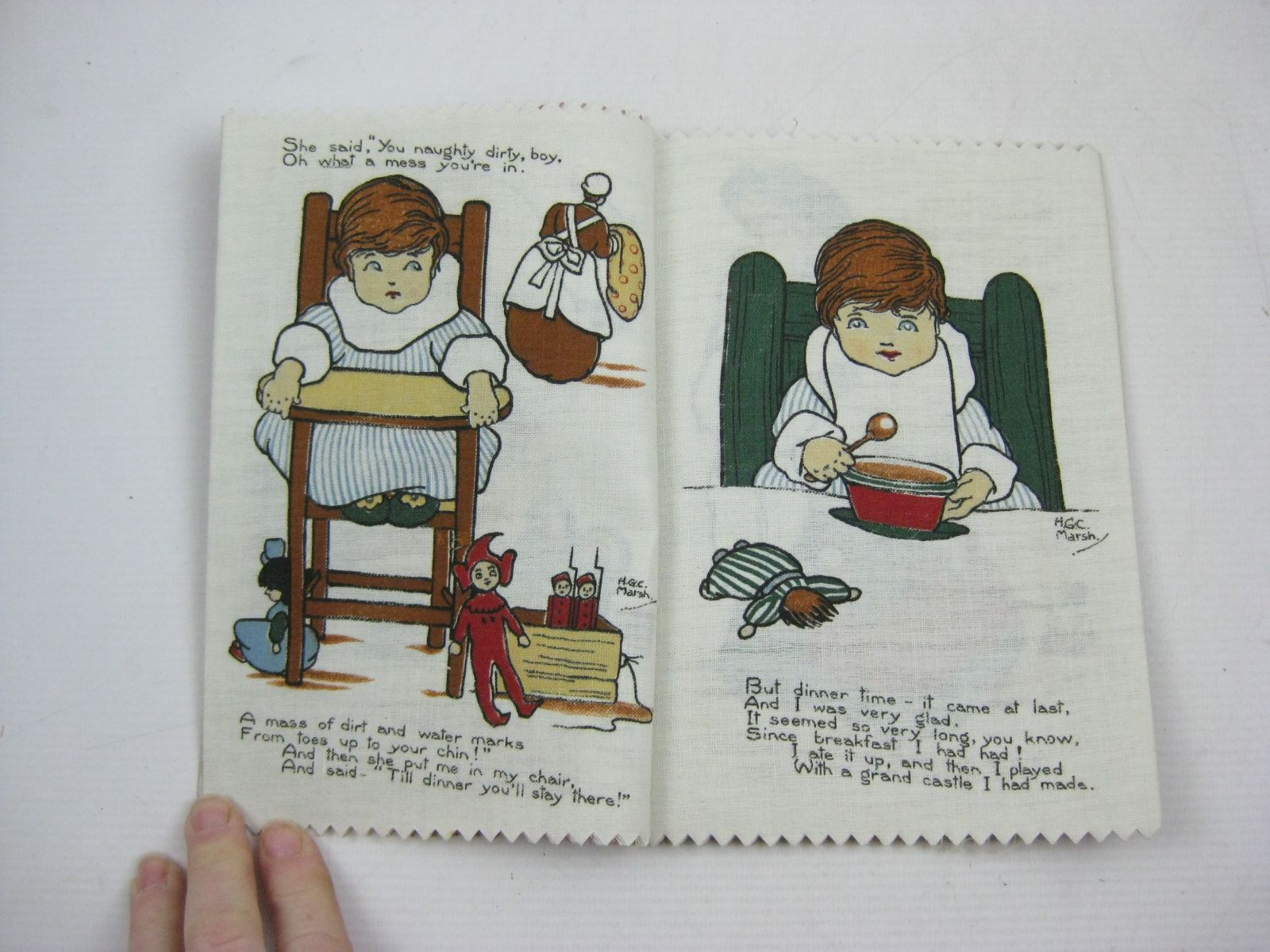 Photo of BABY'S DIARY illustrated by Marsh, H.G.C. published by Dean's Rag Book Co. Ltd. (STOCK CODE: 1315067)  for sale by Stella & Rose's Books