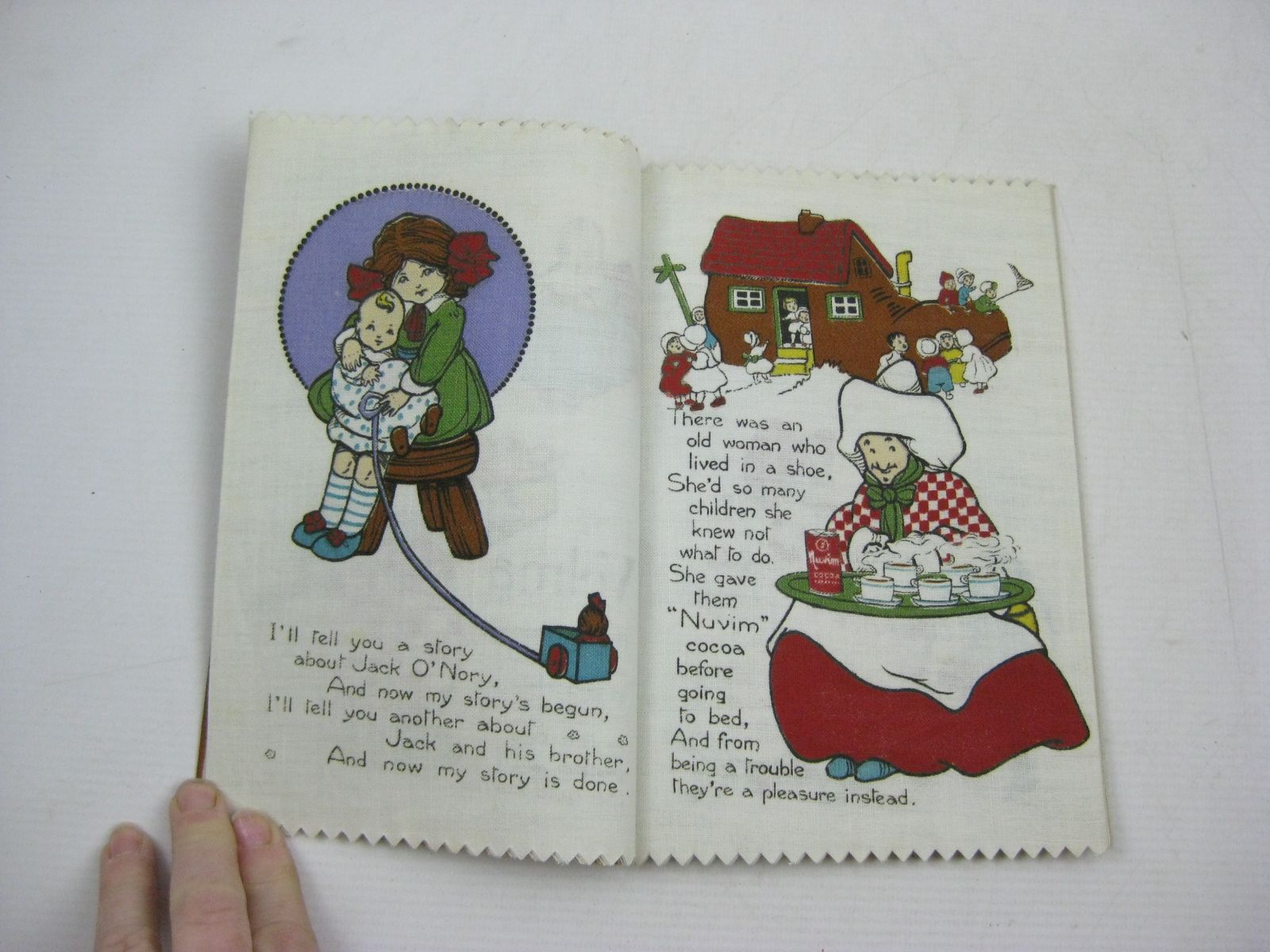 Photo of NURSERY RHYME RAG BOOK illustrated by Marsh, H.G.C.