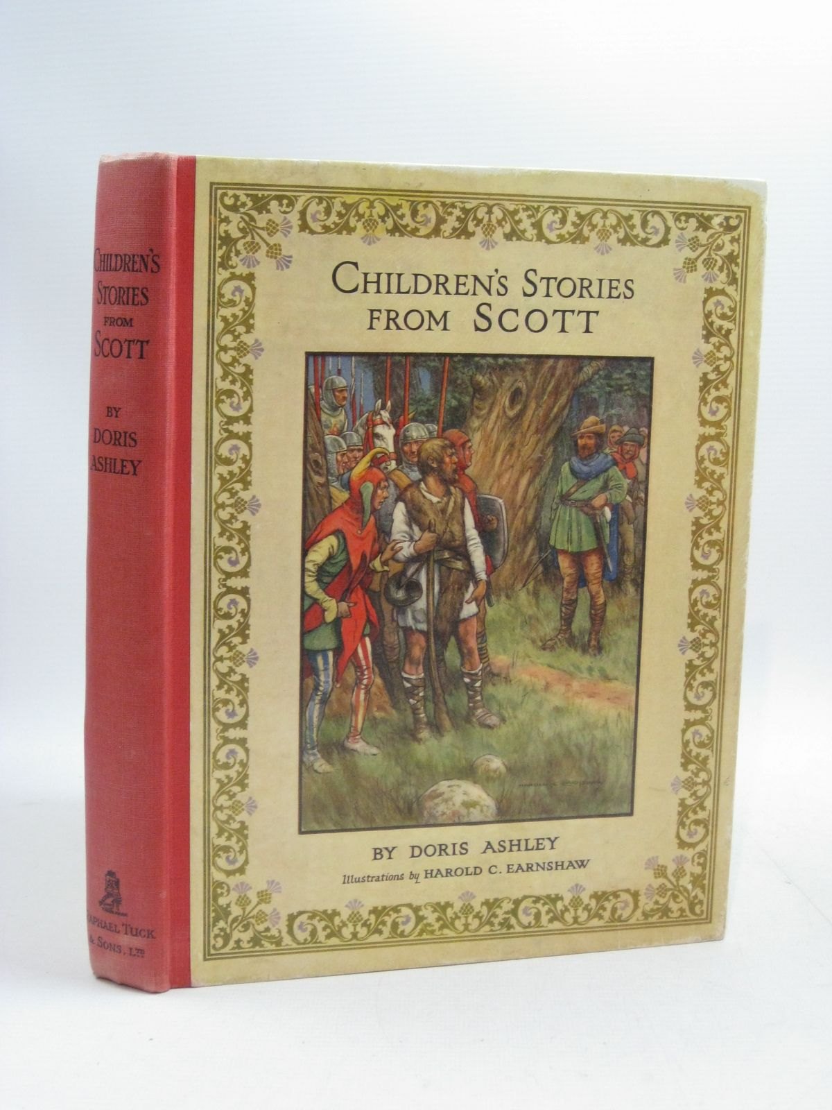 Photo of CHILDREN'S STORIES FROM SCOTT written by Ashley, Doris Vredenburg, Edric illustrated by Earnshaw, Harold C. published by Raphael Tuck & Sons Ltd. (STOCK CODE: 1315098)  for sale by Stella & Rose's Books