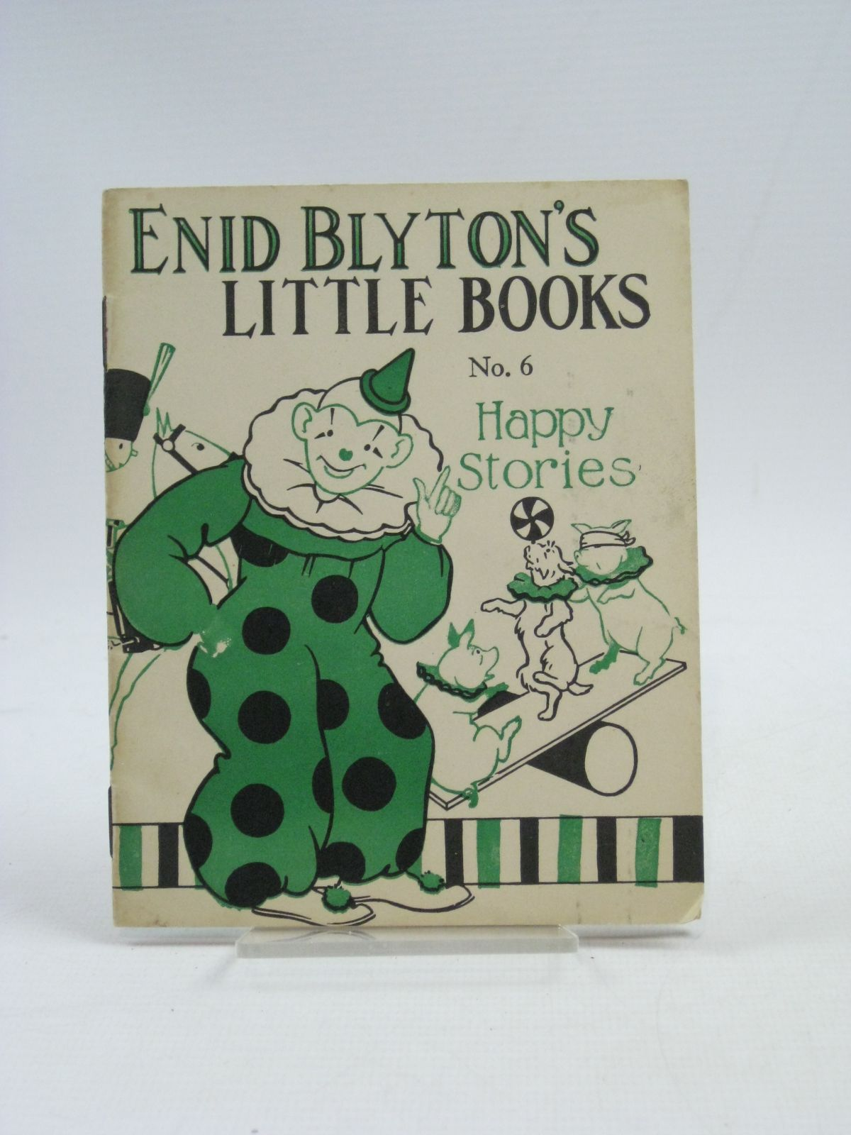 Photo of ENID BLYTON'S LITTLE BOOKS NO. 6 - HAPPY STORIES written by Blyton, Enid illustrated by Kerr, Alfred E. published by Evans Brothers Limited (STOCK CODE: 1315126)  for sale by Stella & Rose's Books