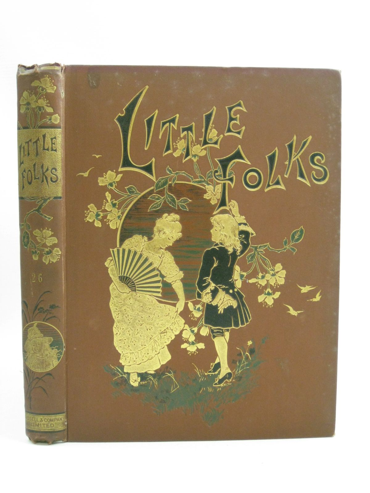 Photo of LITTLE FOLKS VOL 26 written by Molesworth, Mrs.<br />et al, illustrated by Havers, Alice<br />Paget, Walter<br />et al., published by Cassell &amp; Company Limited (STOCK CODE: 1315182)  for sale by Stella & Rose's Books