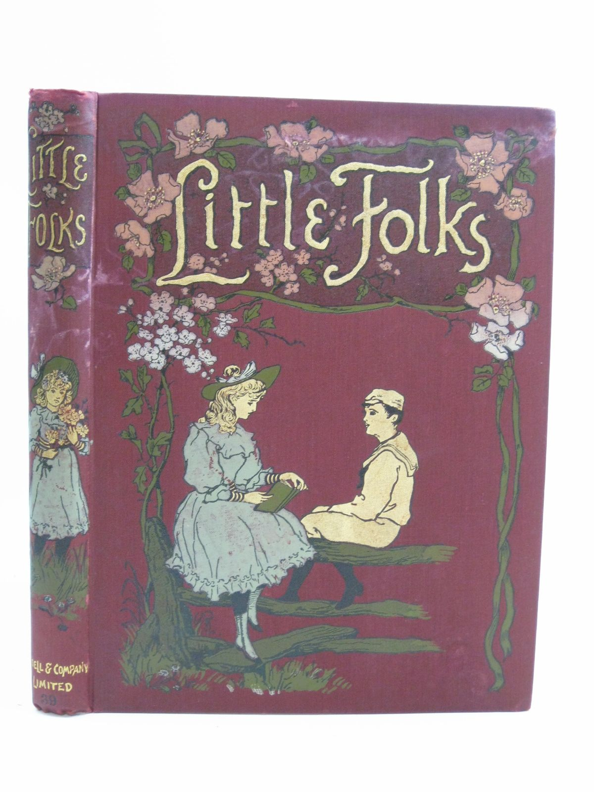 Photo of LITTLE FOLKS VOL 39 written by Molesworth, Mrs. Frith, Henry Richards, Hartley et al, published by Cassell & Company Limited (STOCK CODE: 1315195)  for sale by Stella & Rose's Books
